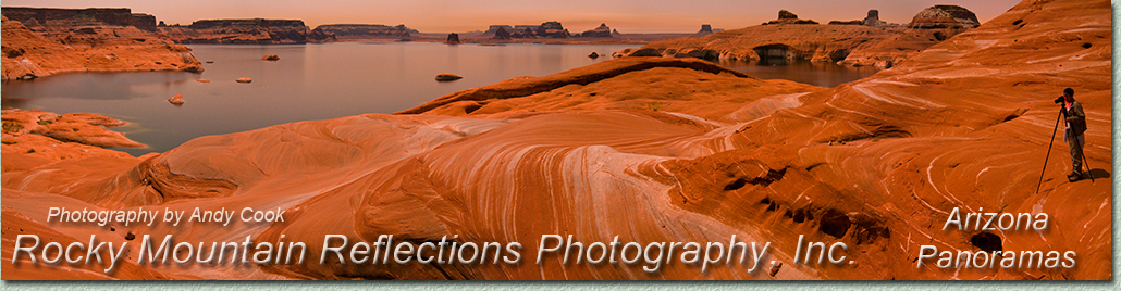 Welcome to a gallery of Arizona, panoramic, landscape photography. Exquisite Photographs of Arizona by landscape photographer Andy Cook.