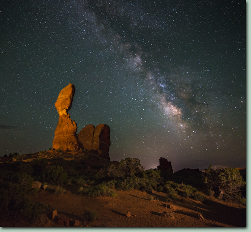 Arches and Canyonlands Natl Parks Night Sky Photo Workshop
