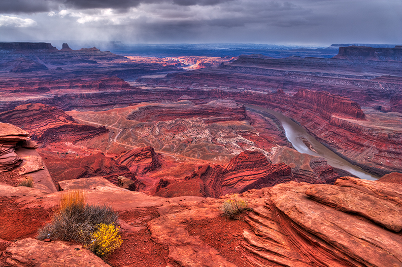 Image taken from Dead Horse Point State Park.