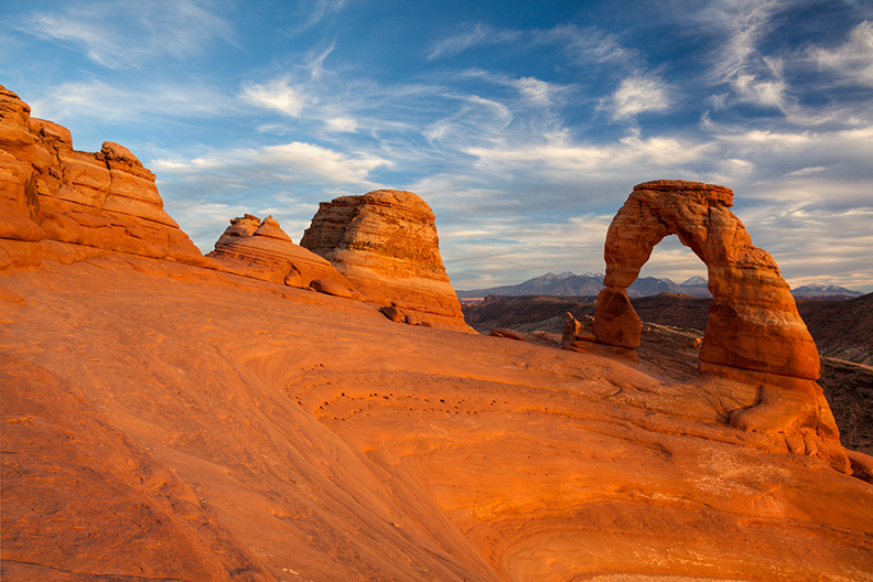Photo of Delicate Arch, Arches National Park.