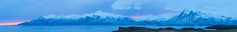 Iceland panoramic photo