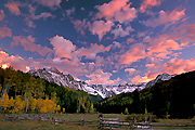 Autumn Photograph of Mount Sneffels