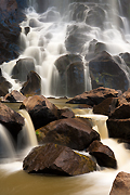 Colorado Waterfall Photograph