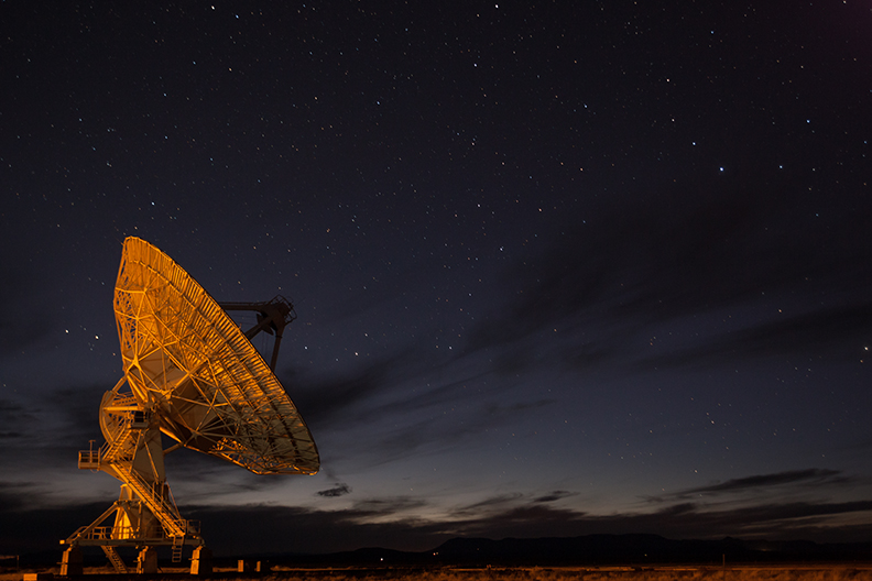 Picture of the Very Large Array.