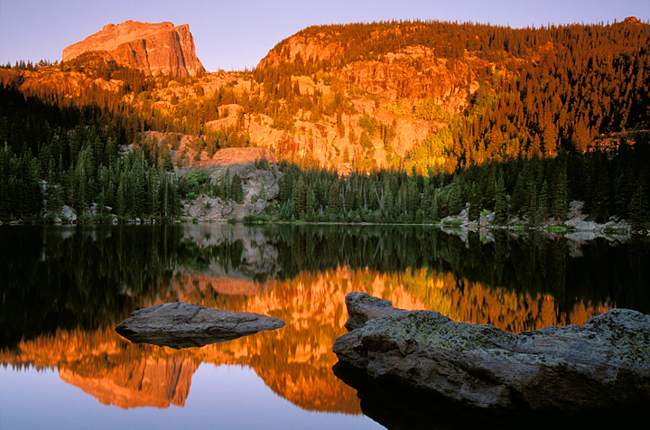 Bear Lake, Rocky Mountain National Park, Picture