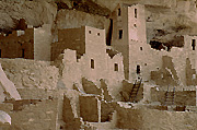 Photograph of Mesa Verde National Park, Colorado.