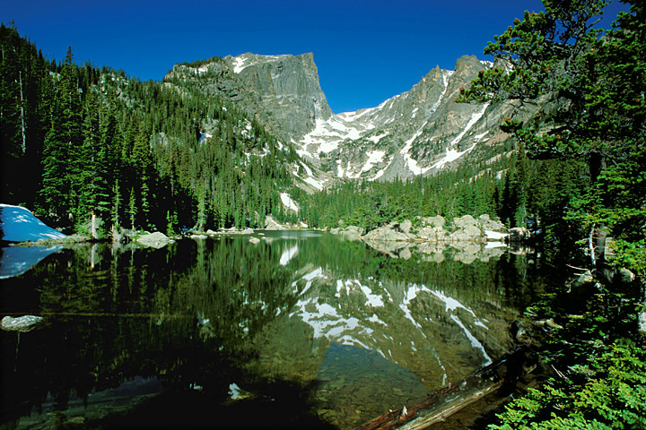 Dream Lake, Rocky Mountain National Park, Picture