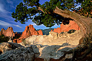 Photograph of Garden of the Gods, Colorado.