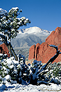 Photograph of Garden of the Gods, Colorado Springs.