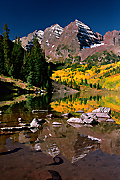 Photograph of Maroon Bells
