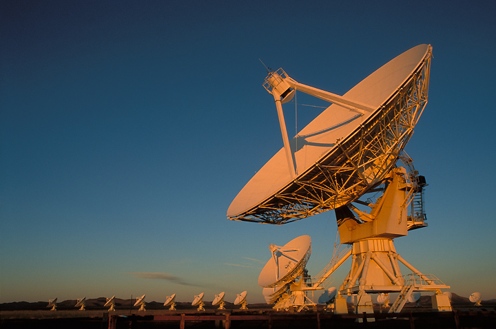 Photo of the Very Large Array.