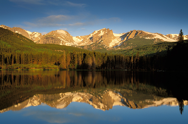 Image of Sprague Lake, Rocky Mountain National Park.