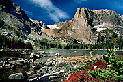 Photograph of Two Rivers Lake, Rocky Mountain National Park, Colorado.
